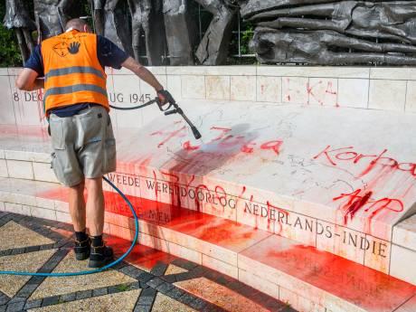 Gemeente doet aangifte na bekladding: Indisch Monument beveiligd en bewaakt