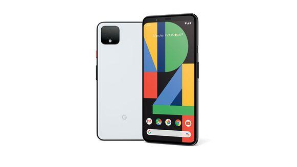 De Pixel 4-smartphone.