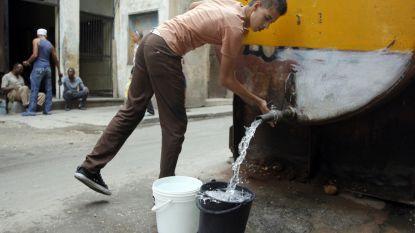 Cubanen moeten leven met waterschaarste