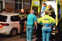 Verwarde man viel de politie aan in Breda. Hij is meegenomen door de ambulance.
