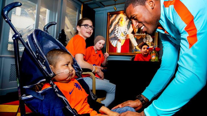 Oranje laat hart spreken in Noordwijk
