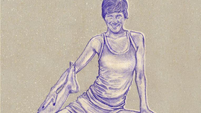 'Ze maakte een enorme carrièreswitch en geeft nu overal ter wereld yogaretreats' Beeld Tzenko Stoyanov