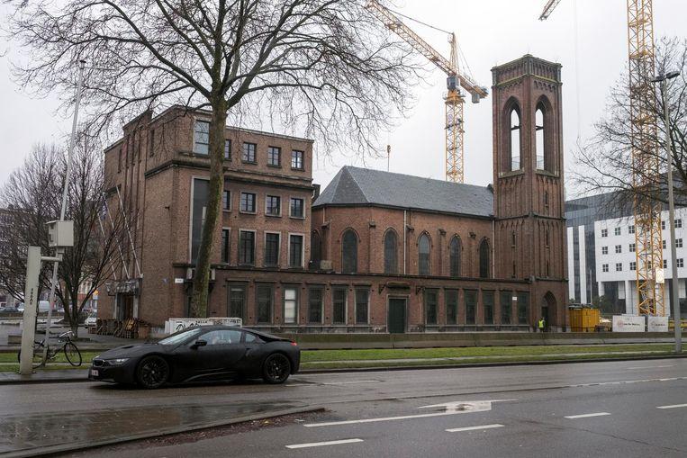 De oude Noorse Zeemanskerk op de Italiëlei.