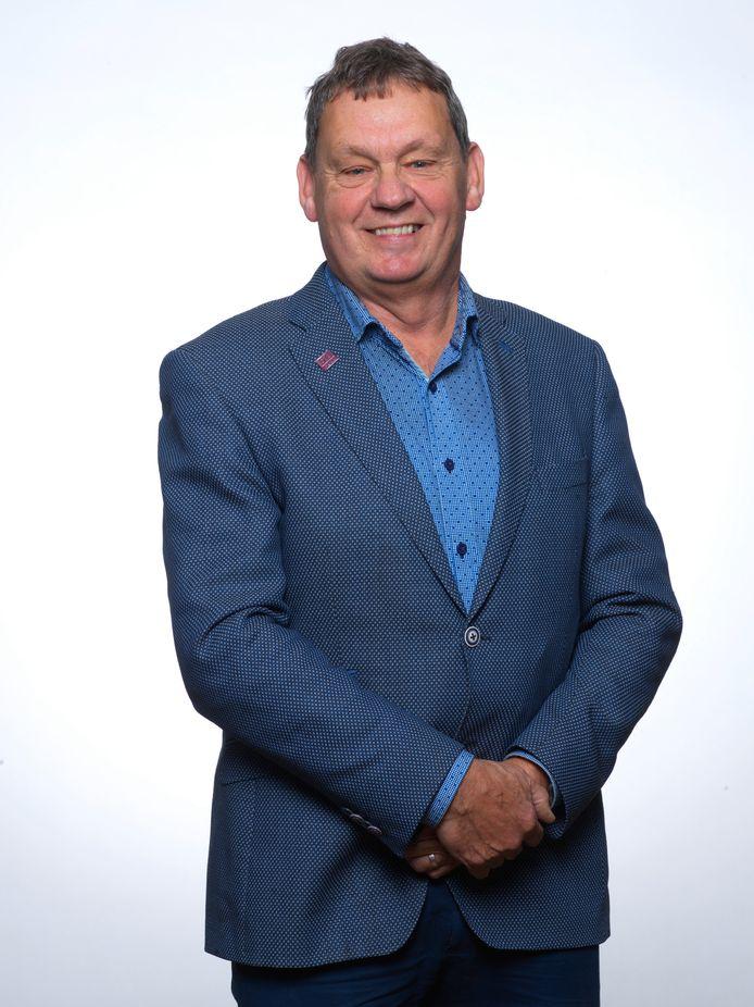 Henk van Tilborg, fractievoorzitter 50Plus in Tilburg en kandidaat voor de Tweede Kamerverkiezingen.