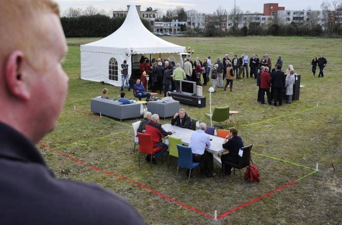 In april liet Veldmolen CV alvast proeven hoe belangstellenden een woning kunnen inrichten op het vroegere Dico-terrein in Uden.