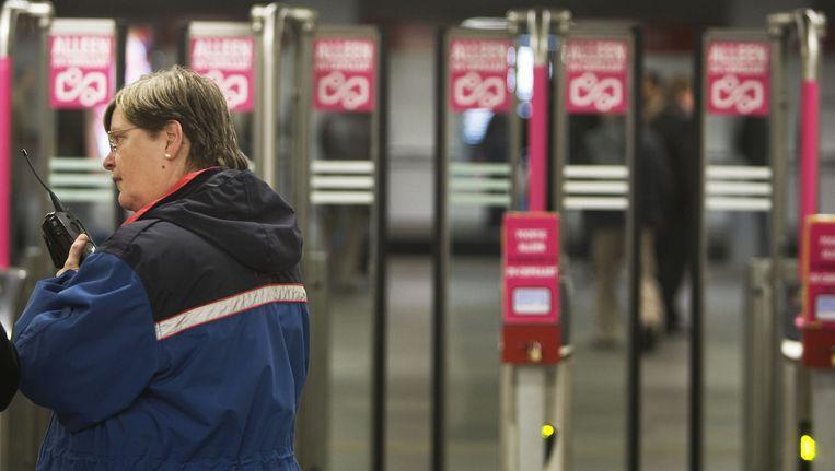 Rotterdamse metro. Beeld anp