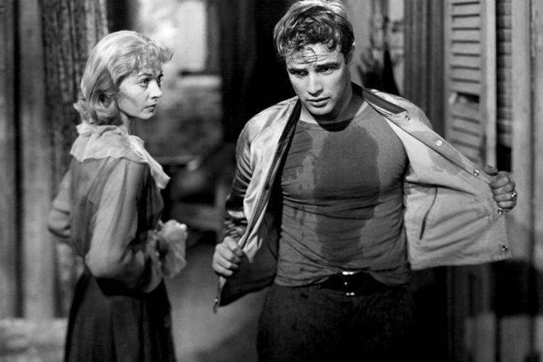 'Mijn lievelingsacteur is Marlon Brando. Vooral toen dat nog een mooie jonge vent was in films als A Streetcar Named Desire (1951).' Beeld