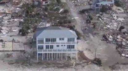 """""""Speciaal gebouwd om 'the big one' te overleven"""": één huis trotseert orkaan Michael met verve"""
