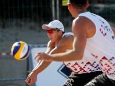 Varenhorst en Van de Velde uitgeschakeld op EK beachvolleybal