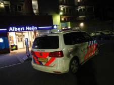 Gewapende overval op Albert Heijn aan Leenderweg, vier daders aangehouden na zoekactie in wijk