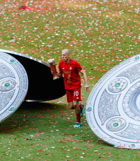 Robben: Hopelijk vieren we volgende week nog eens feest