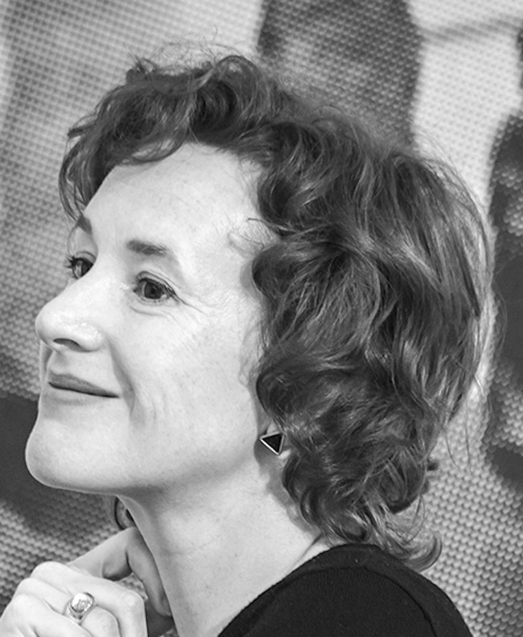 Katja Weitering, bestuurslid Amsterdamse Kunstraad en hoofd presentaties Catharijne Convent Utrecht Beeld .