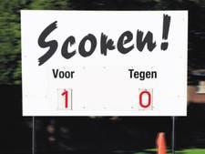 Uitslagen zondagvoetbal 19 november regio Zwolle