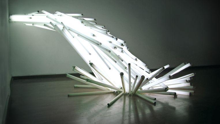 Te zien op Lekker Licht: Oscar Santillian, Failed Dawn (2008). Beeld Jhoeko