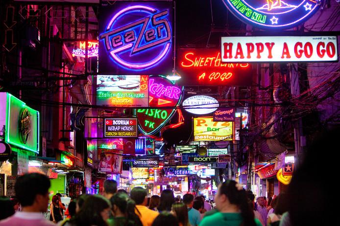 Pattaya in Thailand, magneet voor westerse mannen.