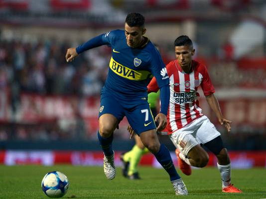 Cristian Pavon (links).
