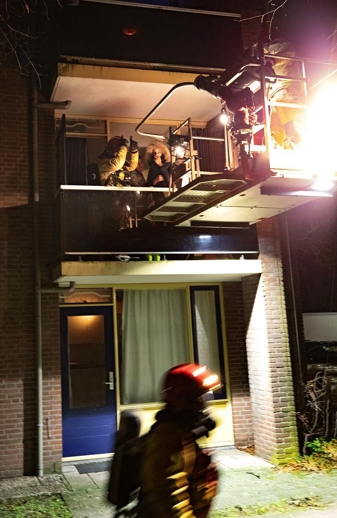 Uitslaande brand hoek Zeilbergsestraat-de Waal in Deurne
