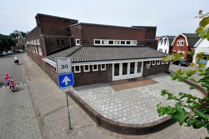 Het monumentale pand, dat vroeger dienst deed als bibliotheek.