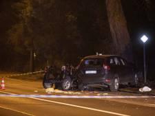 Heftig ongeluk: twee tienermeisjes overleden, twee anderen zwaargewond