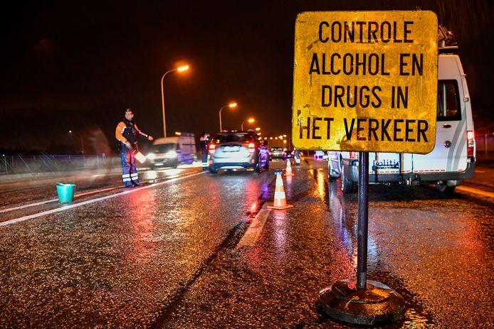 De politie van de zone Mira zal intensief blijven controleren op misbruik van drugs in het verkeer. (archieffoto als illustratie)