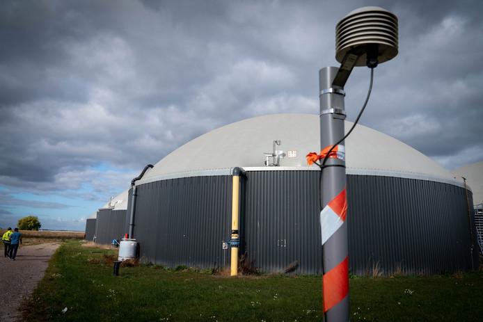 De biocentrale in Bemmel kampte vorig jaar met grote problemen, met stankoverlast als gevolg. Elektronische 'neuzen'meten nu 24 uur per dag welke geuren vrijkomen.