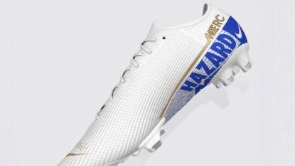 Eden Hazard eert zijn ex-club Chelsea met nieuwe gepersonaliseerde schoen