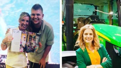 SHOWBITS. Kathleen Aerts ontmoet superfan en Dina Tersago gaat weer de boer op