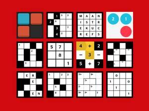 Puzzelpagina: speel de puzzel van de dag