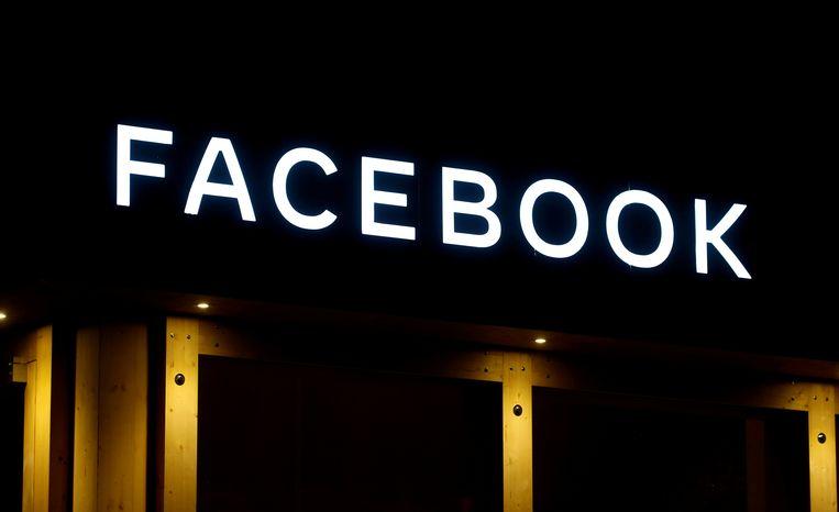 Het logo van Facebook.