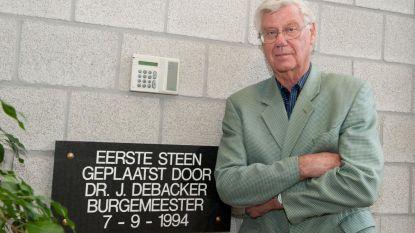 Oud-burgemeester Jos Debacker overleden