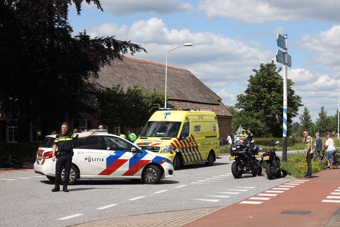 Motorrijder ernstig gewond door ongeluk met auto in Best.