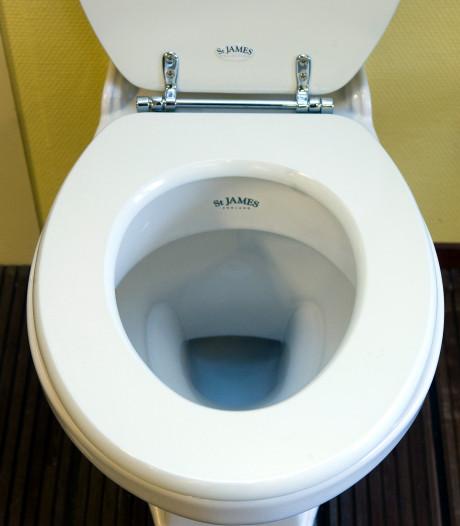 Toilet voor buschauffeurs bij station Nijverdal
