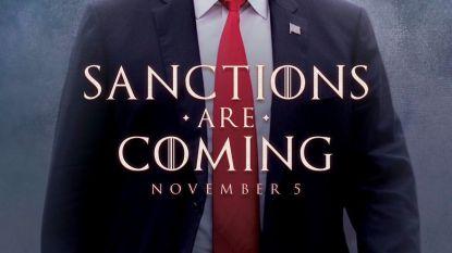 Zo kondigt Trump nieuwe sancties tegen Iran aan