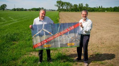 """Raad van State vernietigt bouwvergunning, actiegroep 'Geen Windmolens E19' blijft alert: """"Strijd is nog niet gestreden"""""""
