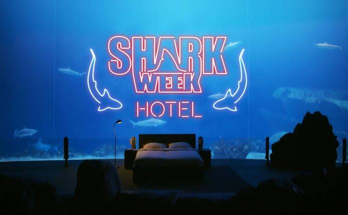 'Hotel Burgers' Ocean'. Illustratie Discovery Channel