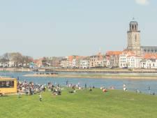 Meadow op het Deventer Stadsstrand als voorbeeld voor de rest van de provincie