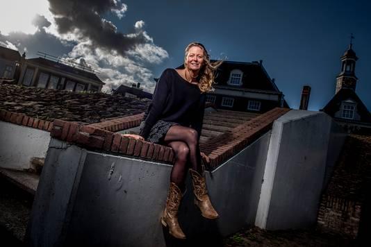 Evenementenmanager Rose van den Berg is door corona ook manusje-van-alles geworden in Tiel.