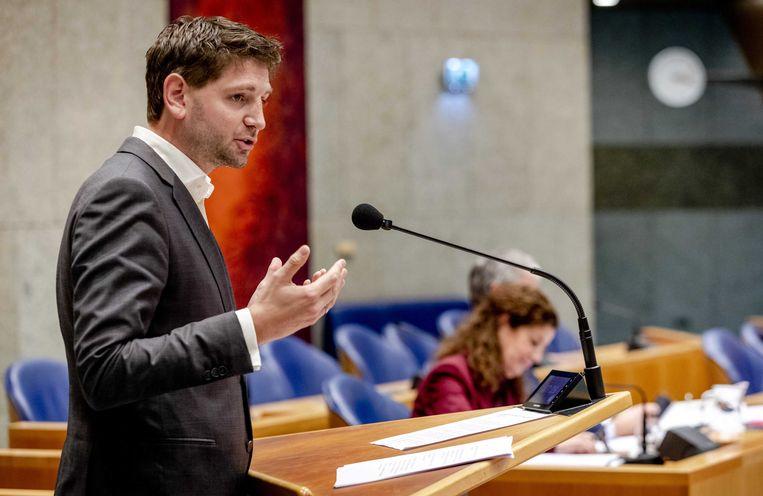Jan Paternotte van de partij D66.