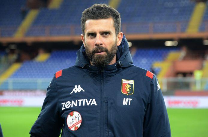 Thiago Motta, de coach van Genoa.