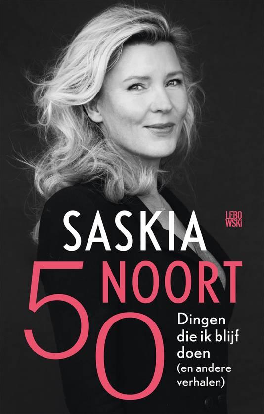 Omslag boek Saskia Noort: Dingen die ik blijf doen.
