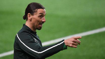 """Ibrahimovic scoort in oefenpot voor Hammarby en veroordeelt fans van Malmö die zijn standbeeld vernielden: """"Niveau van een kleuterklas"""""""