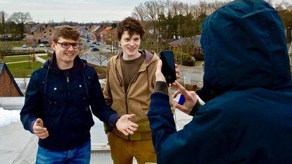 Twintigers stellen zich kandidaat voor CD&V vanop dak