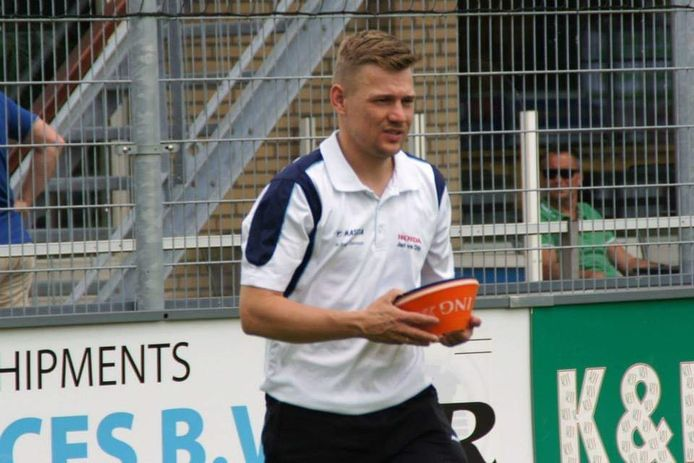 Trainer Elwin Buskop van VV Stellendam