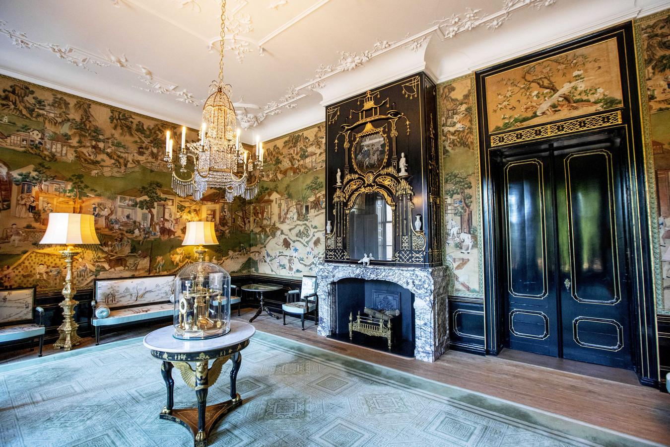 De Chinese zaal in paleis Huis ten Bosch.