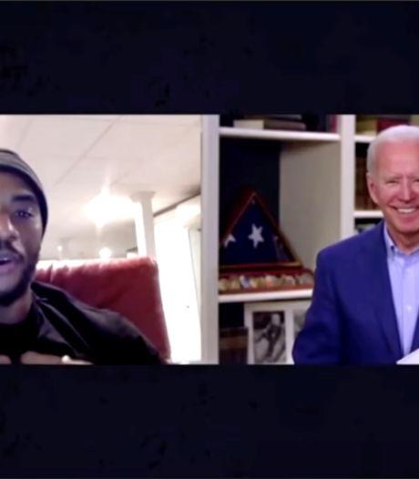 Biden tegen Afro-Amerikaan: wie Trump stemt is niet echt zwart