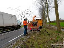Oud-ambtenaar Twenterand vangt bot na ongeval met houtversnipperaar