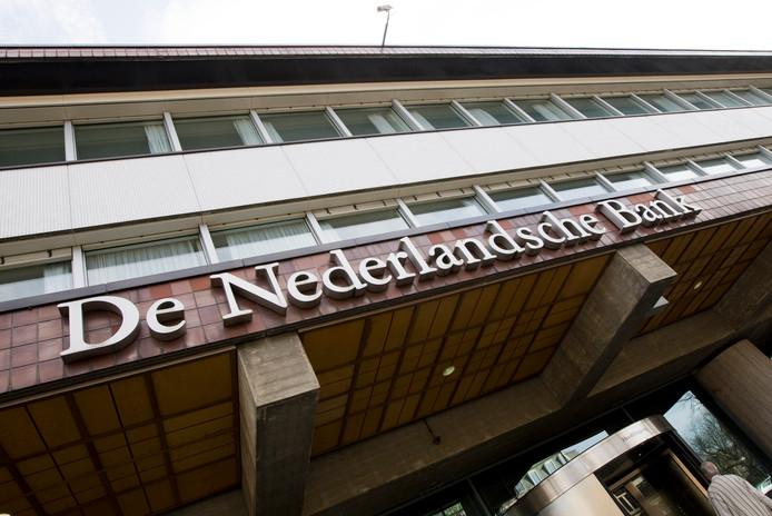 De Nederlandsche Bank in Amsterdam.