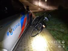 Fietser slaat op de vlucht voor de politie, korte achtervolging in Oldenzaal