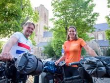 Oirschots stel begint aan reis rond de wereld per fiets