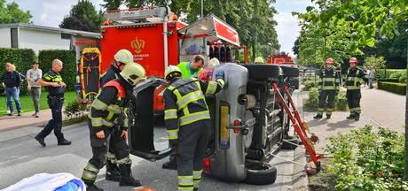 Twee auto's botsen in Eersel